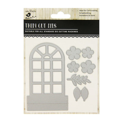 Thin Cut Die- Decorative Window,7pcs