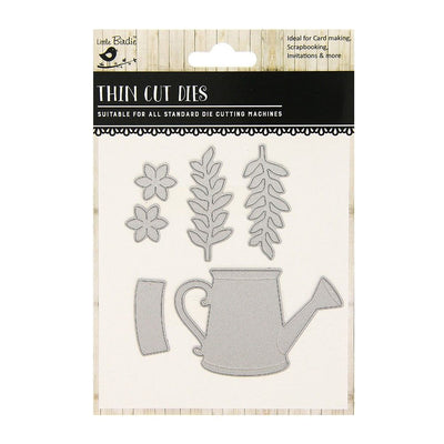 Thin Cut Die- Garden Water Can,5pcs