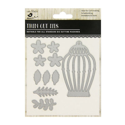Thin Cut Die- Bird Cage,10pcs
