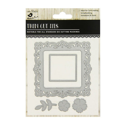 Thin Cut Die- Vintage Frame,4pcs