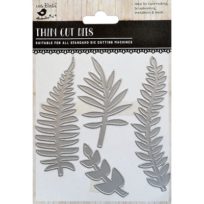 Thin Cut Die- Fern Forest,4pcs