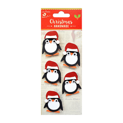 Christmas Penguins 5pc