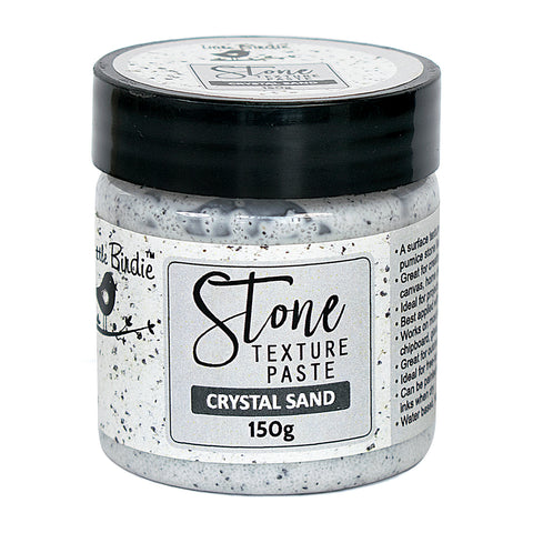 Stone Texture Paste Crystal Sand 150g Little Birdie