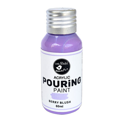 Acrylic pouring Paint Berry Blush 60ml Little Birdie