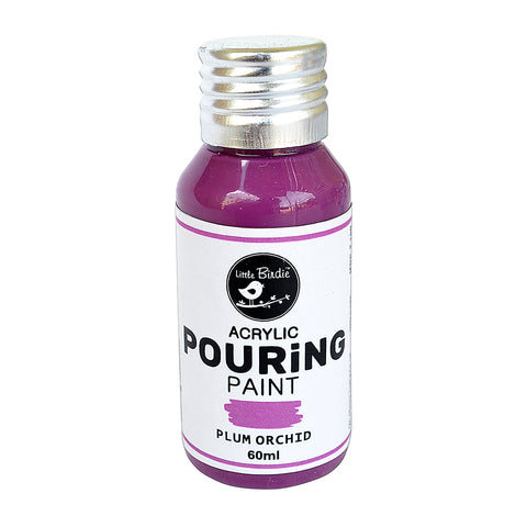Acrylic pouring Paint Plum Orchid 60ml Little Birdie