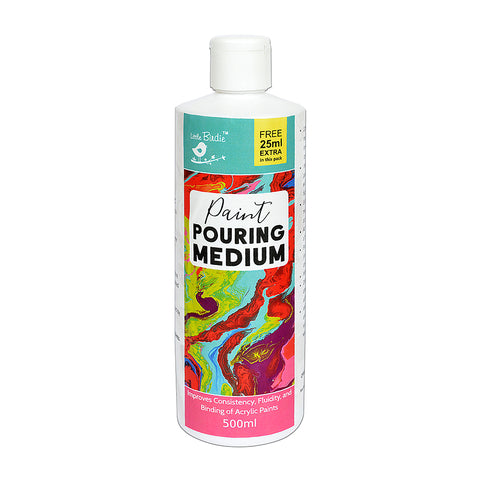 Pouring Medium Paint 500ml Little Birdie