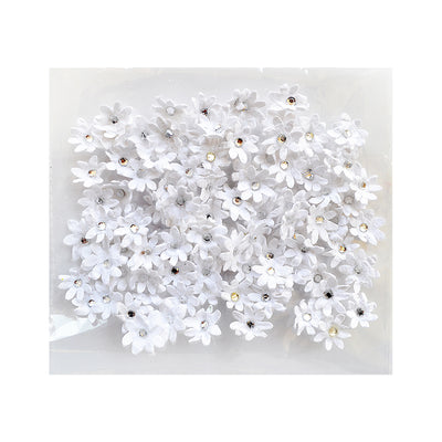 Micro Jewelled Paper Florettes 100pc