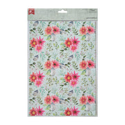 Decoupage Paper A4 - Floral Essence / Floral Brilliance 2desx2, 4sheets
