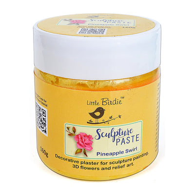 Sculpture Paste Pineapple Swirl 160g Little Birdie
