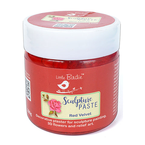 Sculpture Paste Red Velvet 160g Little Birdie