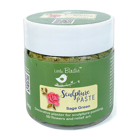Sculpture Paste Sage Green 160g Little Birdie