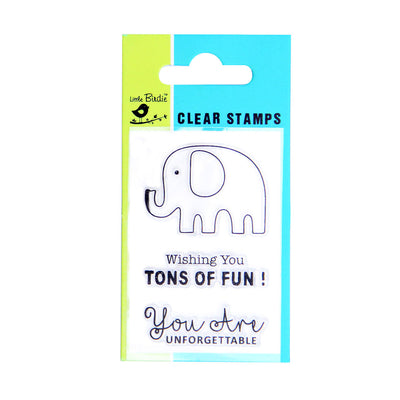 Clear Stamps - Tons of fun 3pc Little Birdie