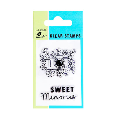 Clear Stamps - Make Memories 3pc Little Birdie