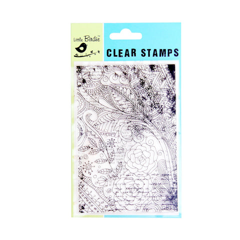 Clear Stamps - Whimsical Garden 1pc Little Birdie