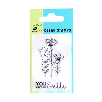 Clear Stamps - Smile 2pc Little Birdie