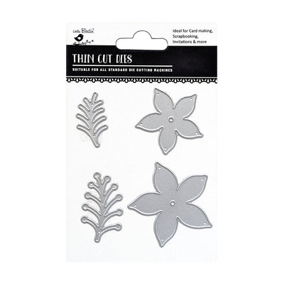 Thincut Dies - La Fleur 4pc Little Birdie