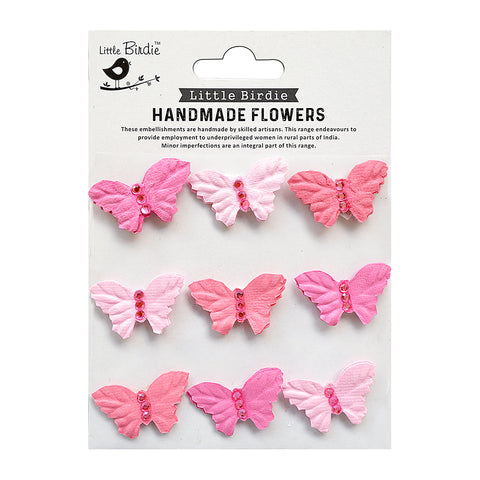 Jewel Butterfly Celebrate Life 9pc Little Birde