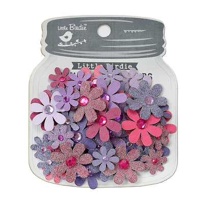 Sparkle Florettes Birds And Berries 60pc Little Birde