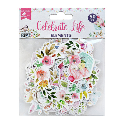 Ephemera Celebrate Life 50pc Little Birdie