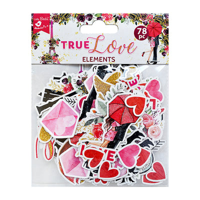 Ephemera True Love 78pc Little Birdie
