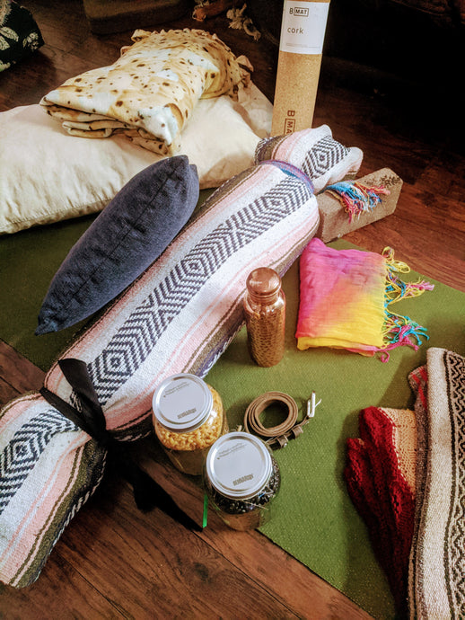 How to Make Your Own Yoga Props at Home