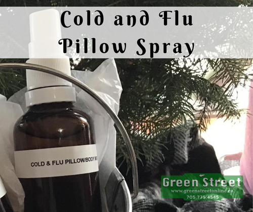 Uplifting Cold & Flu Pillow Spray