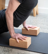 Load image into Gallery viewer, Natural Cork Yoga Block