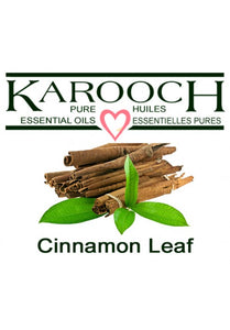 Cinnamon Leaf (organic and regular)
