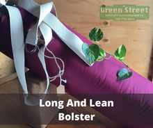 Load image into Gallery viewer, Long and Lean Yoga Bolster