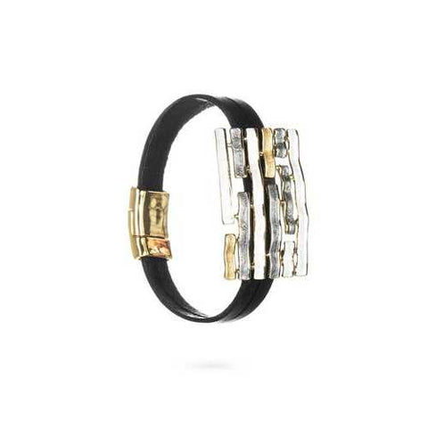 Abstract Glam Stripe Bracelet