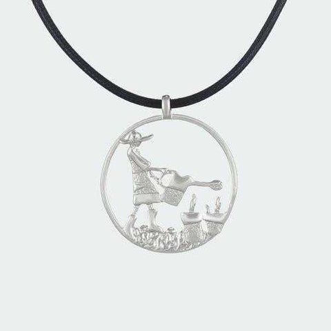 Bohemian Gardener Necklace - Silver