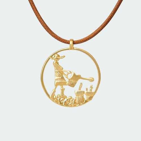 Bohemian Gardener Necklace - Gold