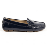 V 1969 Italia Womens Loafer Blue AMALFI