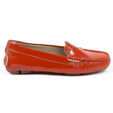 V 1969 Italia Womens Loafer Red AMALFI