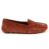 V 1969 Italia Womens Loafer Dark Red AMALFI