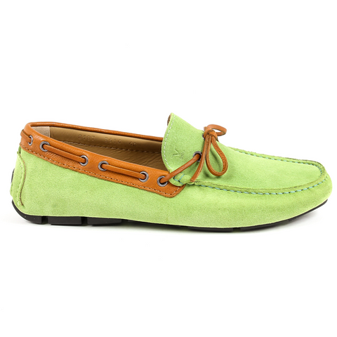 V 1969 Italia Mens Loafer Green MATTEW