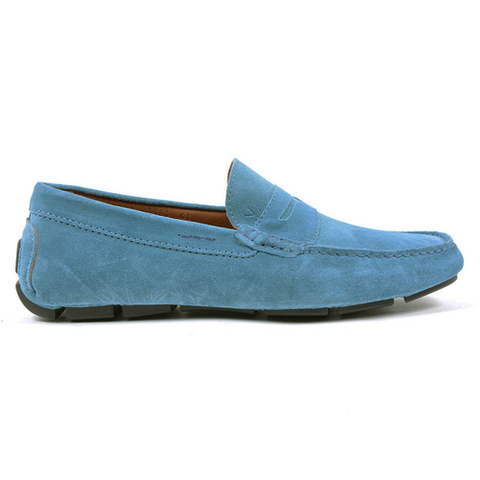 V 1969 Italia Mens Loafer Blue STEWART