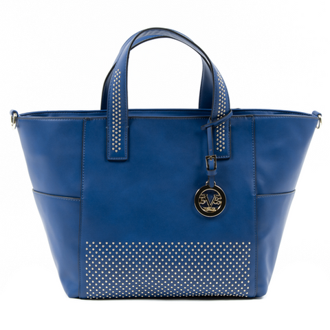 V 1969 Italia Womens Handbag Blue VERONICA