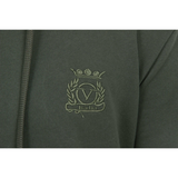 V 1969 Italia Mens Hoodie ART. 4467 MILITARY GREEN