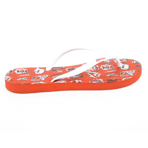 Coca Cola ladies flip flop CCA0636 ACE RED