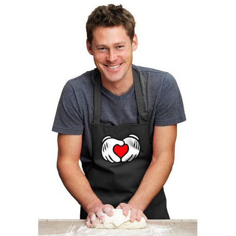 Mickey Hands - Love Awesome Apron
