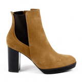 V 1969 Italia Womens Heeled Ankle Boot Brown MADELYN