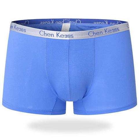 Casual Small Waistband Cotton Breathable Soft Boxer Briefs for Men