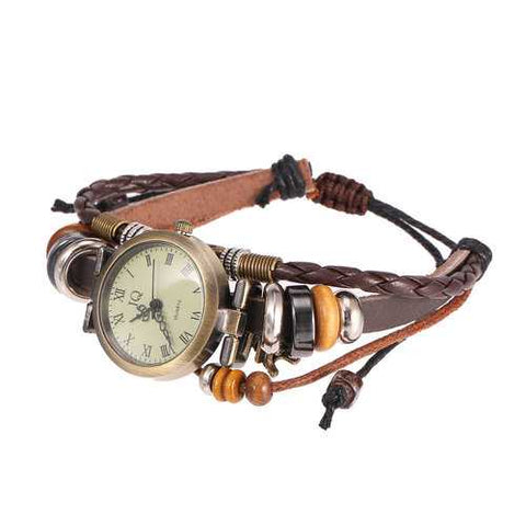 Vintage Weave Bracelet Watches