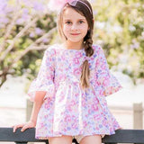 Floral Girls Casual Dresses