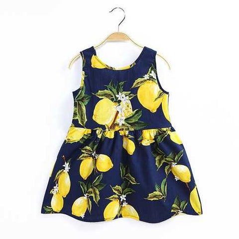 Cute Printed Girls Summer Dresses