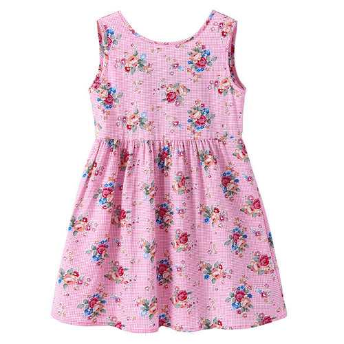 Flower Girls Sleeveless Summer Dress