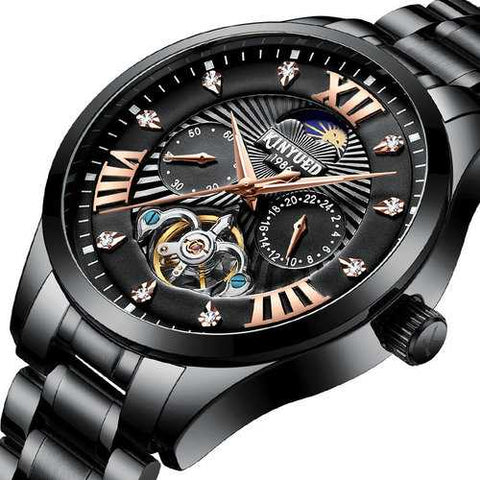Fashion Moon Style Men Watch