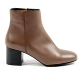 V 1969 Italia Womens Heeled Ankle Boot Brown MAD