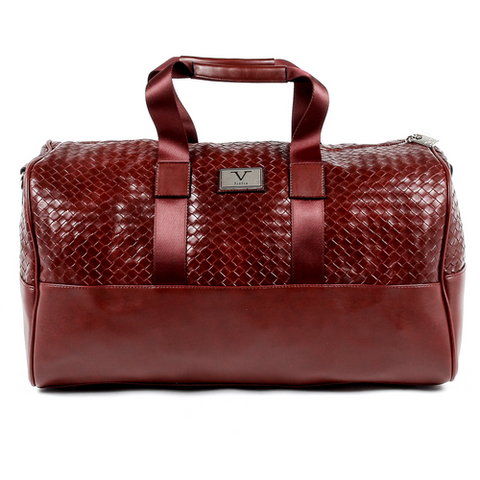 V 1969 Italia Mens Handbag Dark Red JEFF